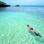 snorkel west bay